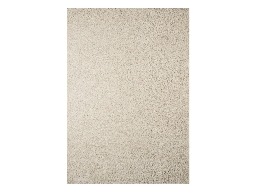 Signature Design by Ashley Contemporary Area RugsCaci Snow Medium Rug
