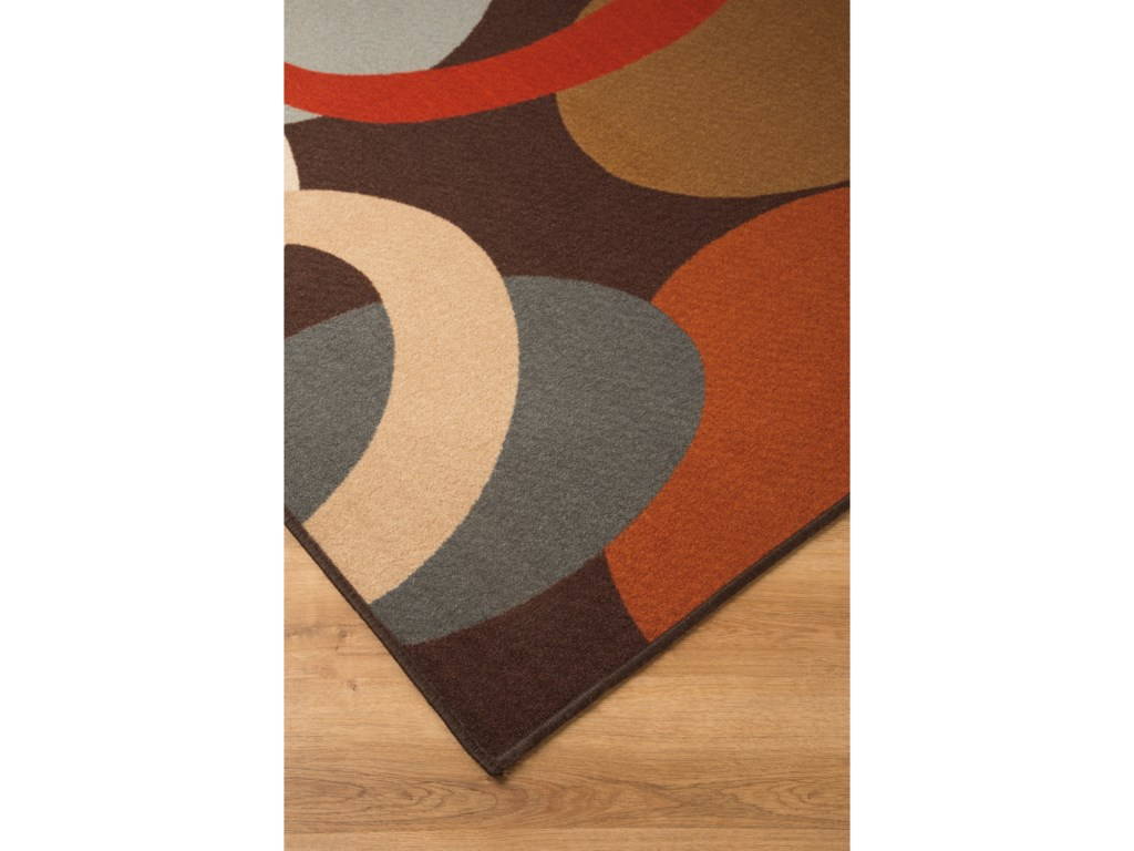 Signature Design by Ashley Contemporary Area RugsAcciai Brown/Blue Medium Rug