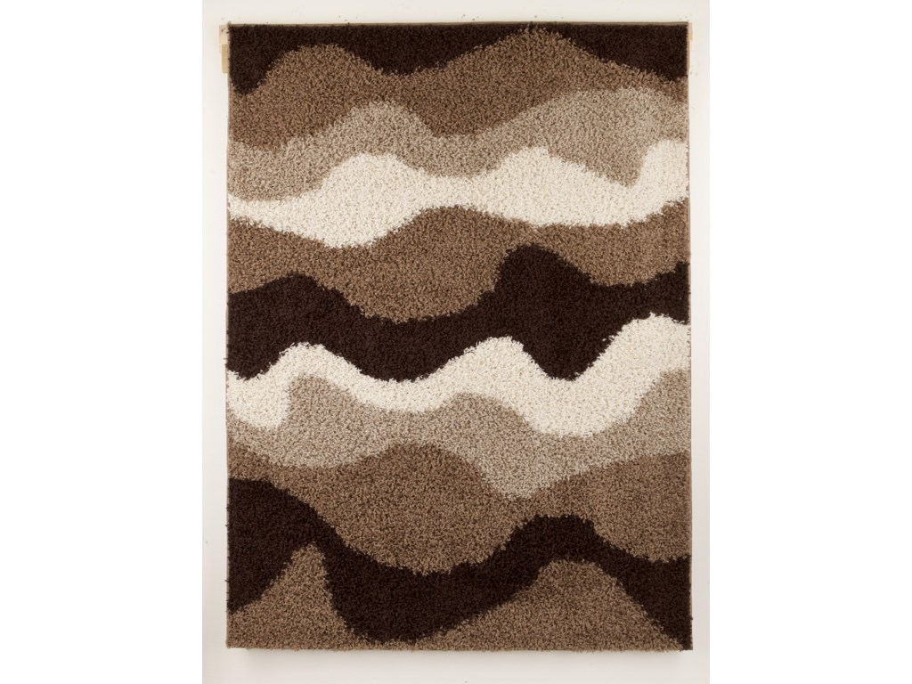 Signature Design by Ashley Contemporary Area RugsKipri - Java Medium Rug
