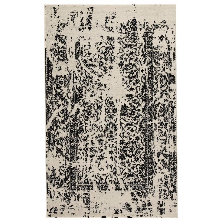 Signature Design By Ashley Contemporary Area Rugs Jag Black White