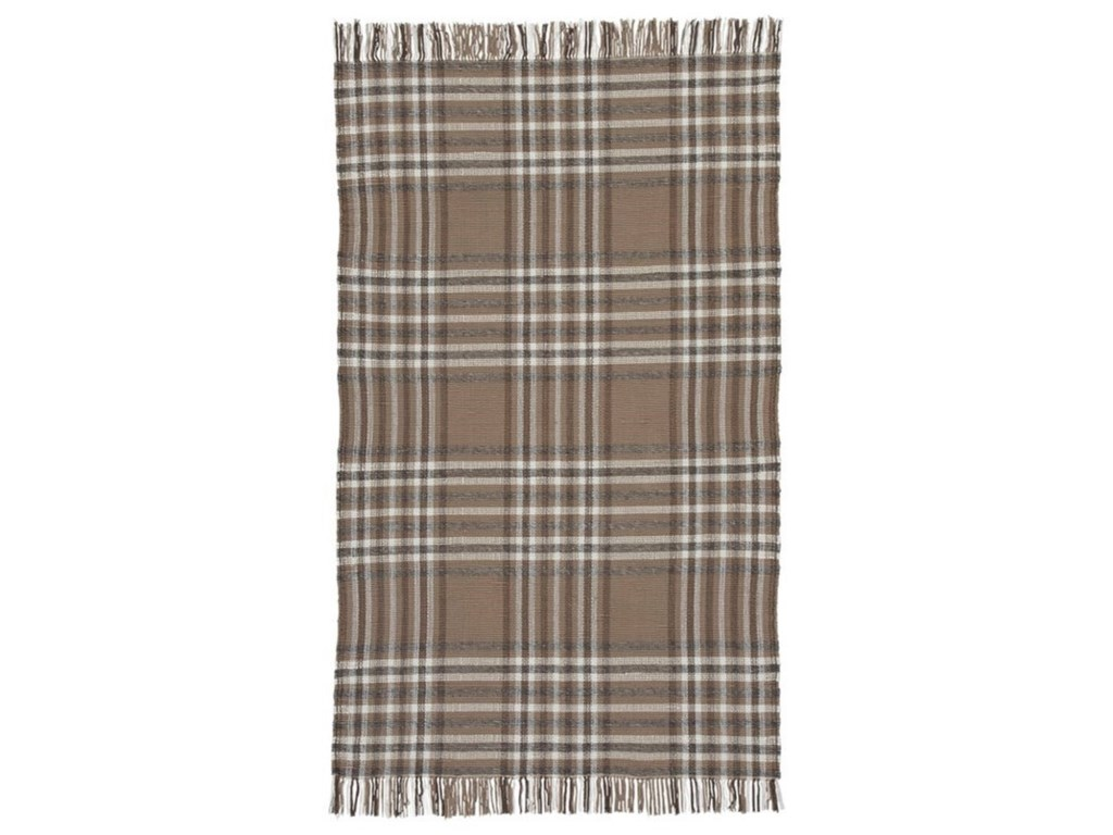 Signature Design by Ashley Contemporary Area RugsHardy Beige/Brown Large Rug