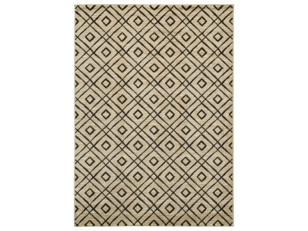 Benchcraft Contemporary Area RugsJui Cream Large Rug