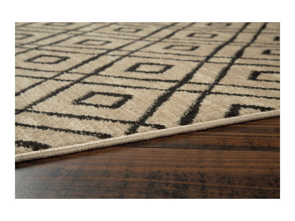 Signature Design by Ashley Contemporary Area RugsJui Cream Medium Rug