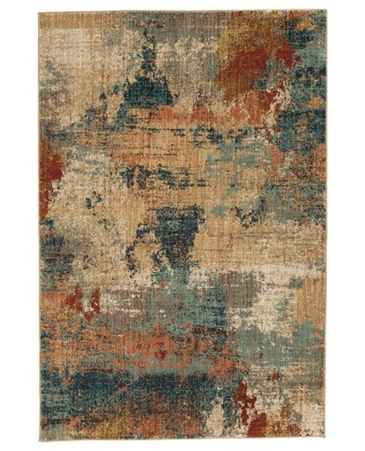 Signature Design By Ashley Contemporary Area Rugsjavana Multi Large Rug