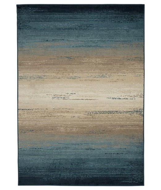 Signature Design By Ashley Contemporary Area Rugsignacio Blue Tan Large Rug