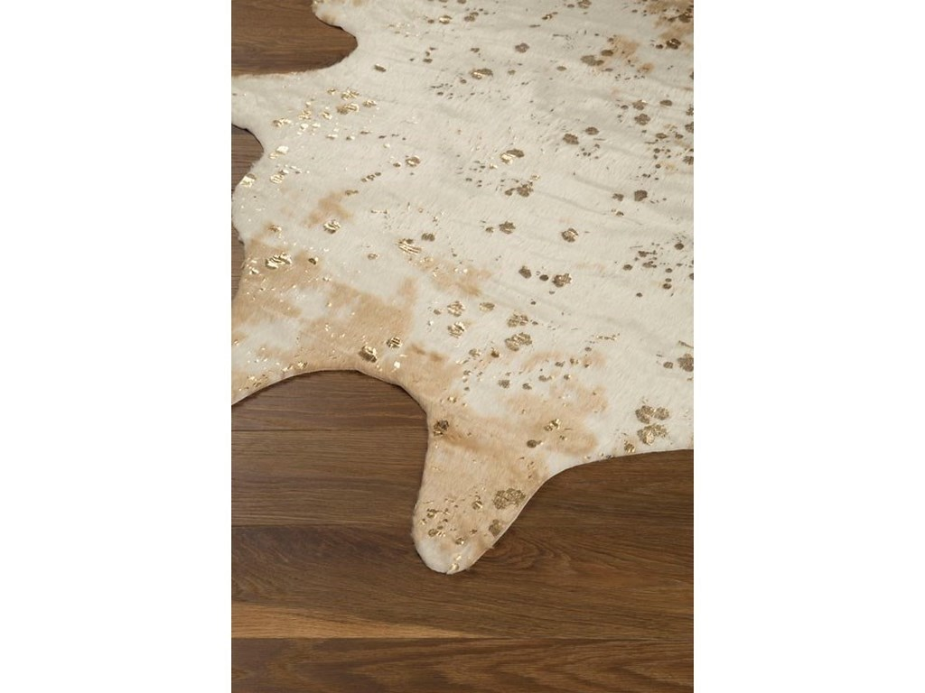 Signature Design by Ashley Contemporary Area RugsJaxith Ivory/Brown Medium Rug