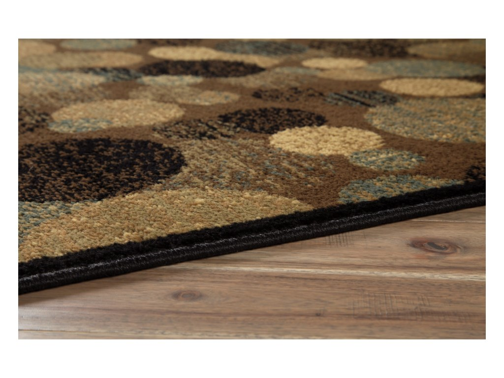 Signature Design by Ashley Contemporary Area RugsVance Brown Large Rug