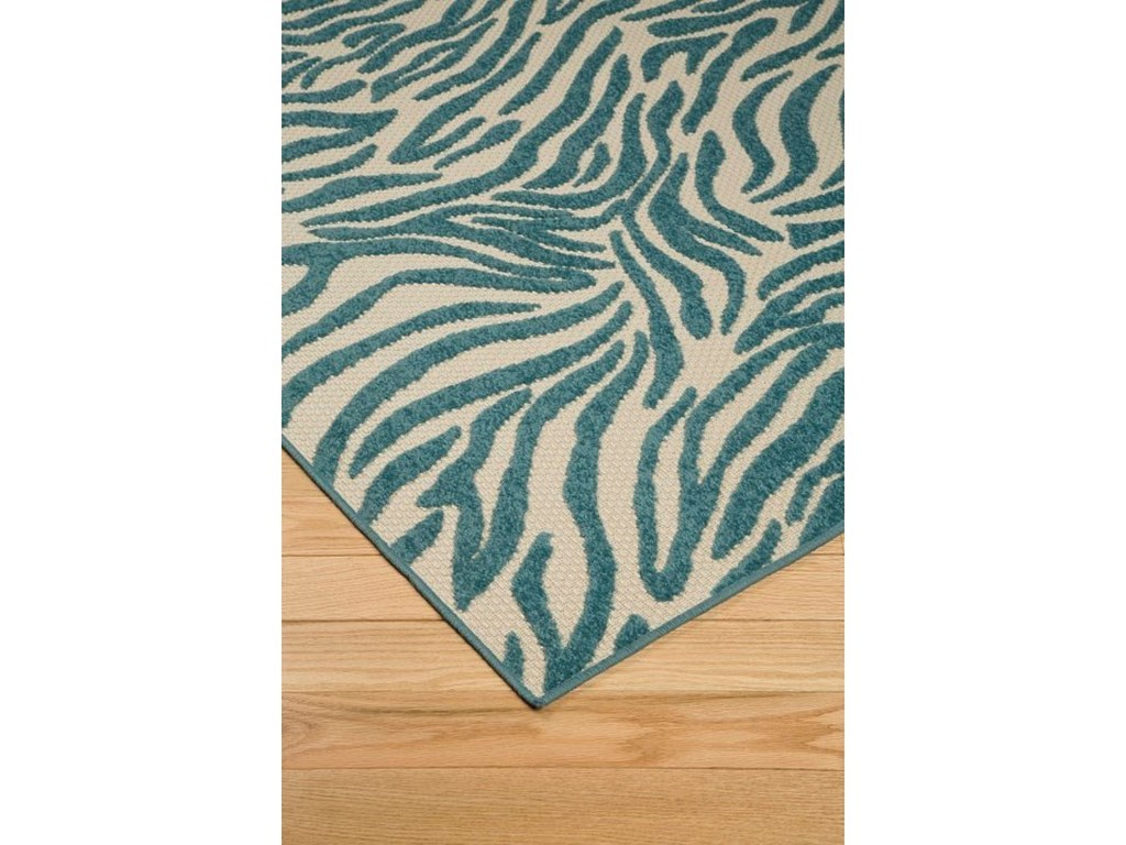 Signature Design by Ashley Contemporary Area RugsJapheth Turquoise Medium Rug