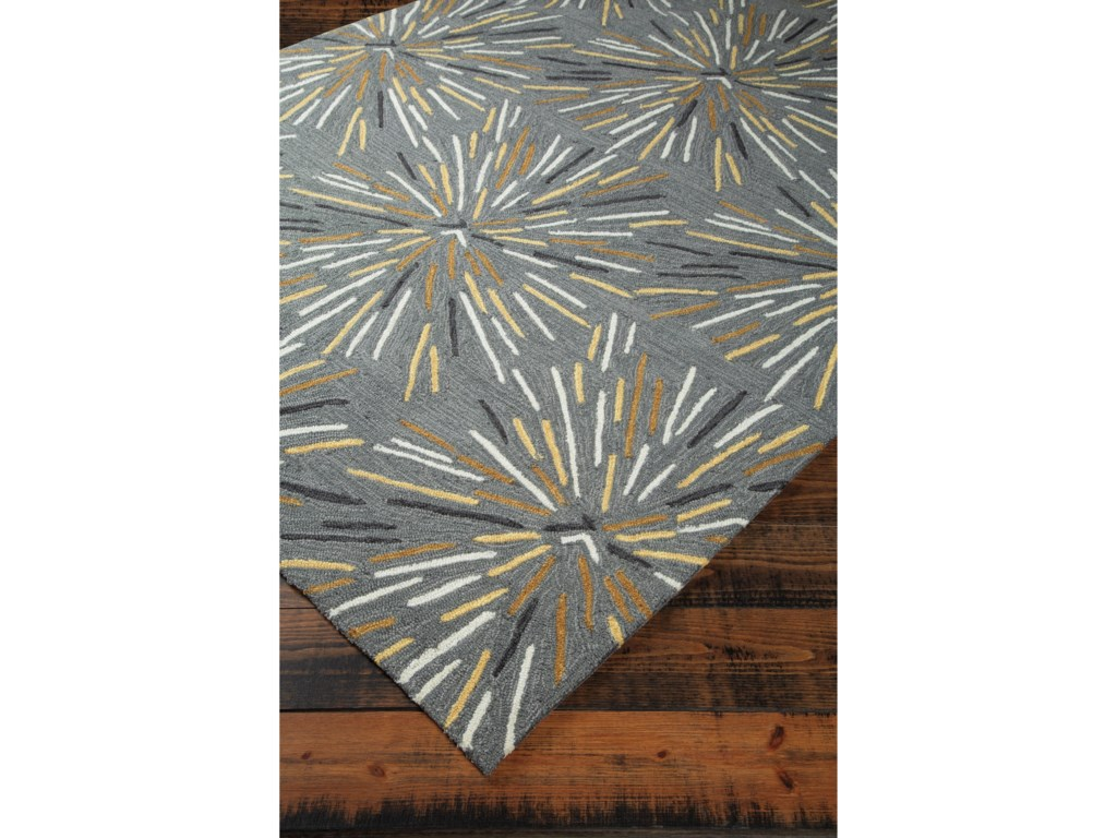 Signature Design by Ashley Contemporary Area RugsCalendre Gray Medium Rug
