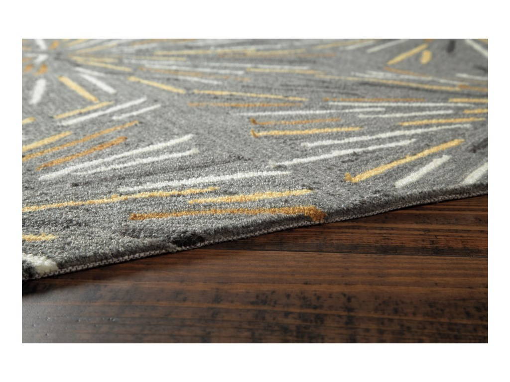 Signature Design by Ashley Contemporary Area RugsCalendre Gray Large Rug