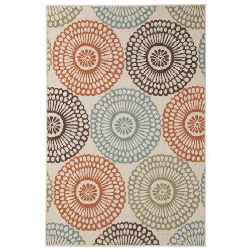 Signature Design by Ashley Contemporary Area Rugs Holliday Multi Large Rug