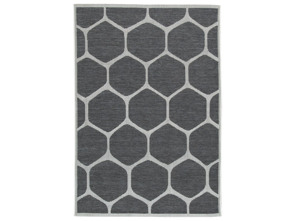 Signature Design by Ashley Contemporary Area RugsJaved Charcoal Large Rug