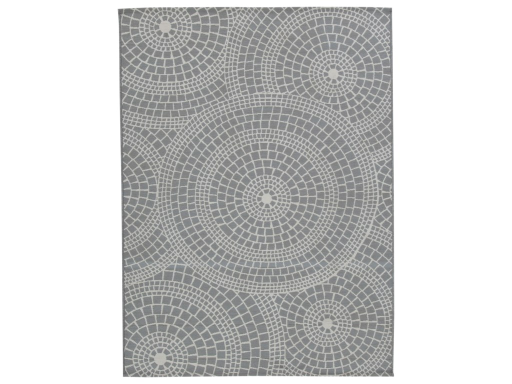 Signature Design by Ashley Contemporary Area RugsJesimae Gray Medium Rug