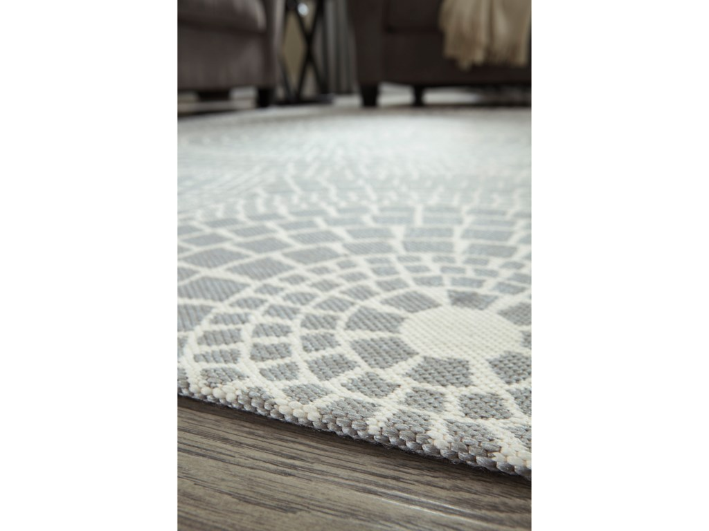 Signature Design by Ashley Contemporary Area RugsJesimae Gray Large Rug