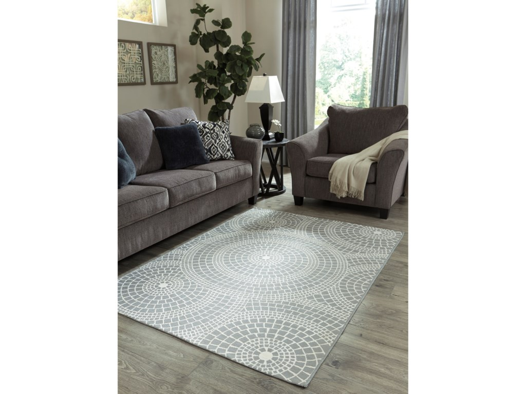 Collection Three (Showroom Closing Sale) Contemporary Area RugsJesimae Gray Large Rug
