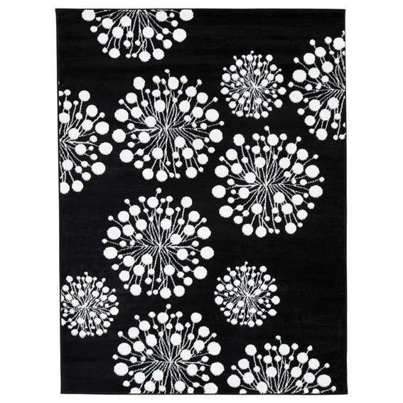 Signature Design By Ashley Contemporary Area Rugs Jaliyah Black