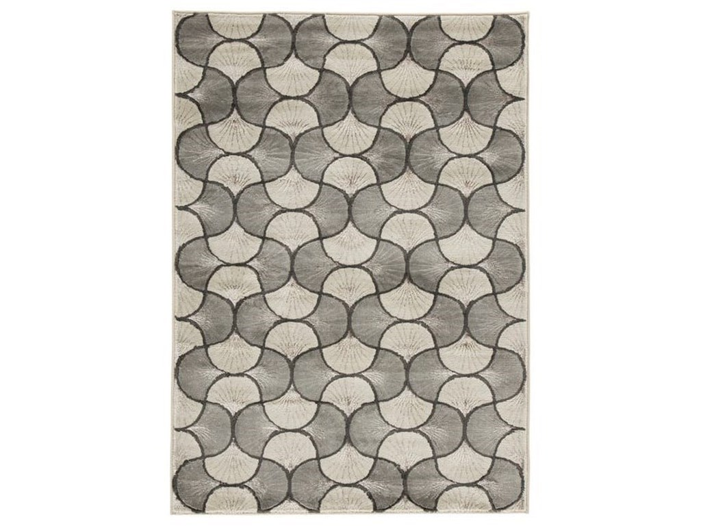 Signature Design by Ashley Contemporary Area RugsJaquan Metallic Large Rug