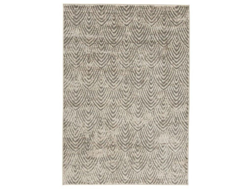 Signature Design by Ashley Contemporary Area RugsRobert Metallic Large Rug