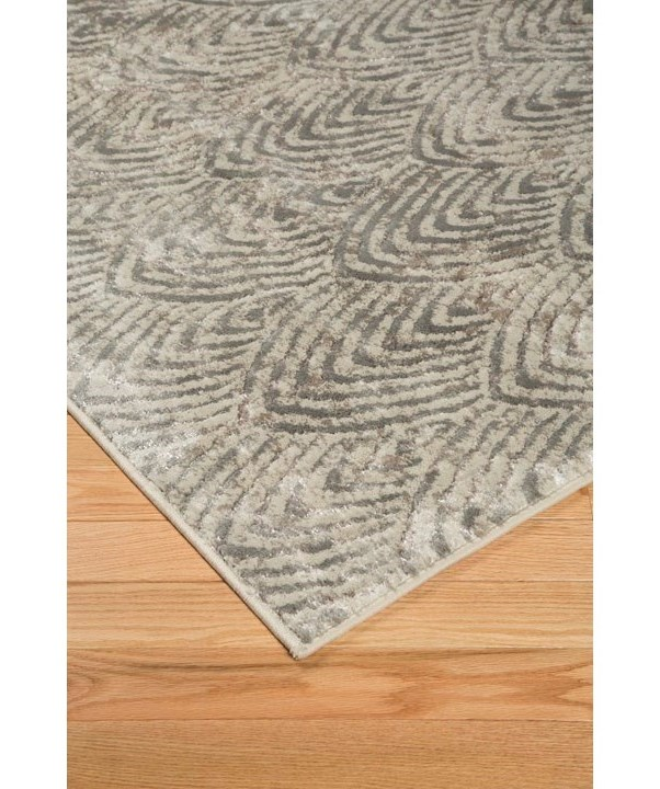 Trendz Contemporary Area RugsRobert Metallic Medium Rug