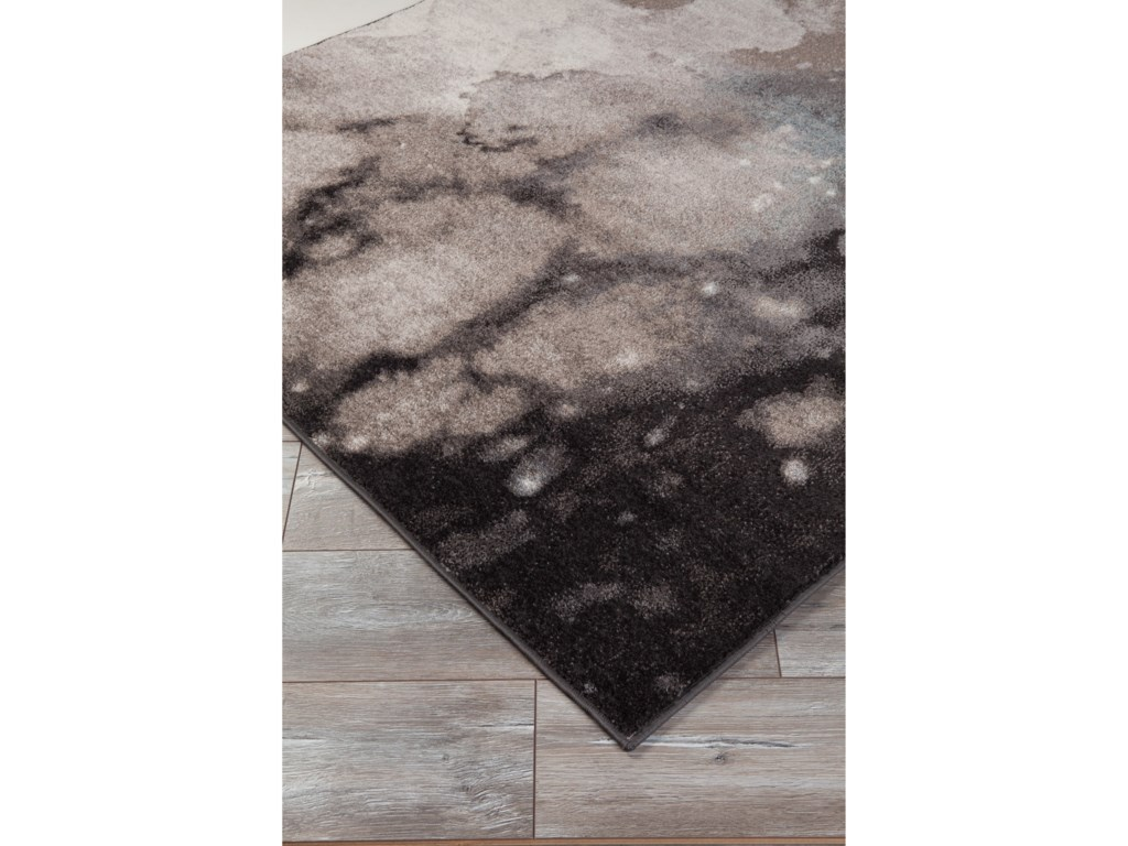 Signature Design by Ashley Contemporary Area RugsJoash Gray Large Rug