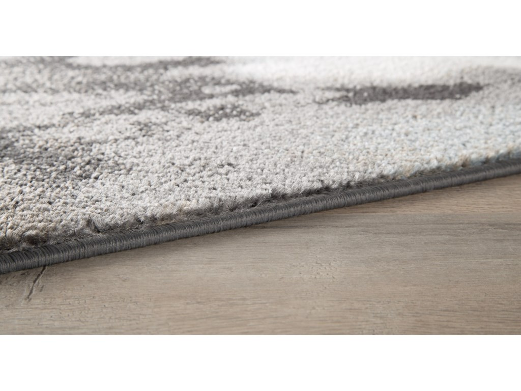 Signature Design by Ashley Contemporary Area RugsJoash Gray Medium Rug