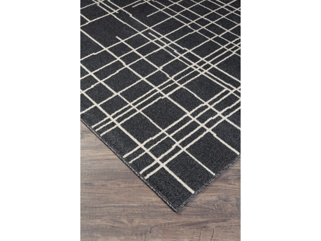 Signature Design by Ashley Contemporary Area RugsJai Black/White Large Rug