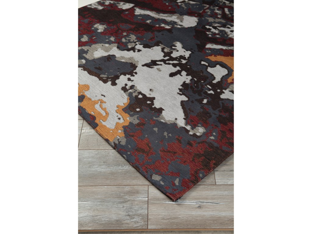 Signature Design by Ashley Contemporary Area RugsJame Multi Medium Rug