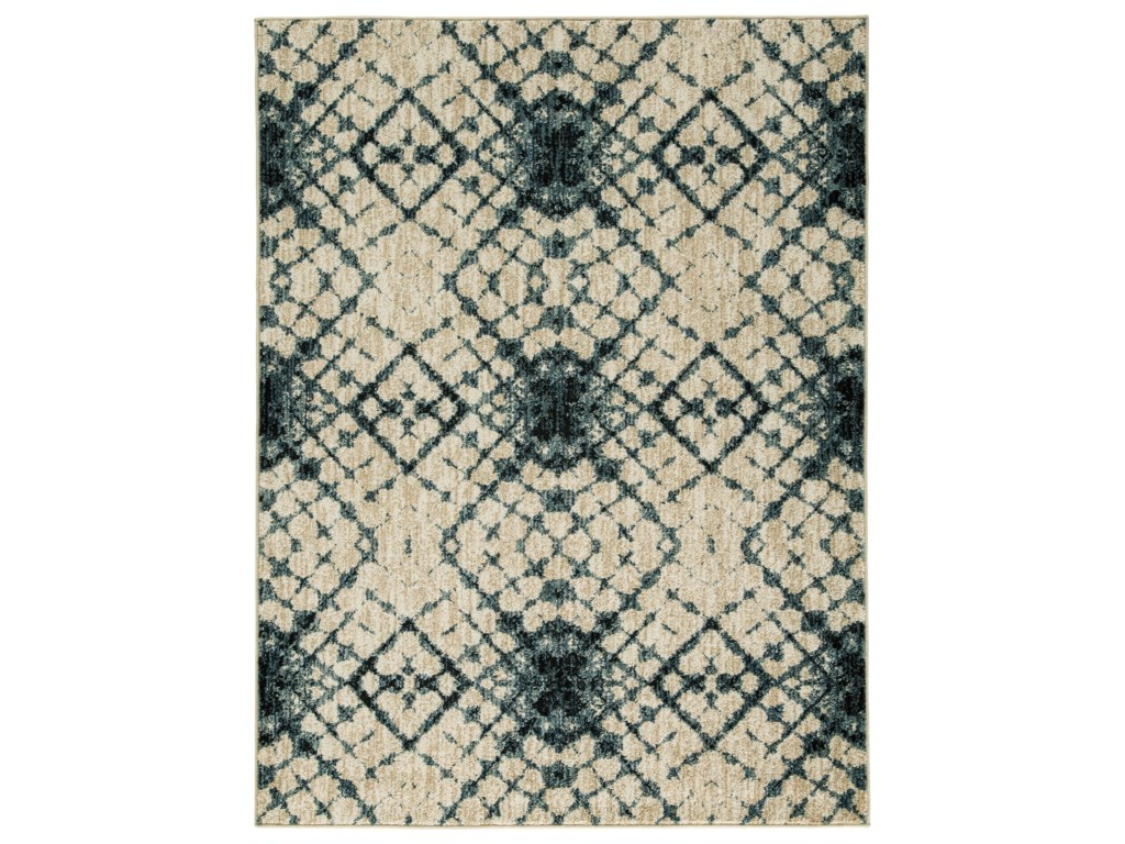 Signature Design by Ashley Contemporary Area RugsCatheryn Blue Large Rug