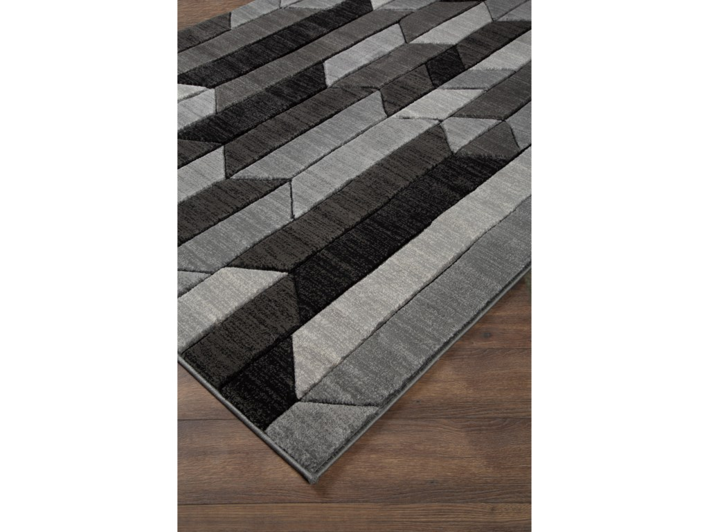 Signature Design by Ashley Contemporary Area RugsChayse Gray Medium Rug