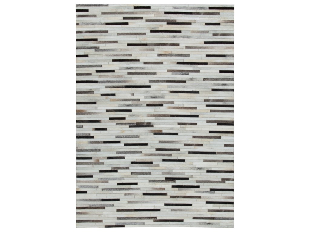 Signature Design by Ashley Contemporary Area RugsLebelle White/Black Large Rug