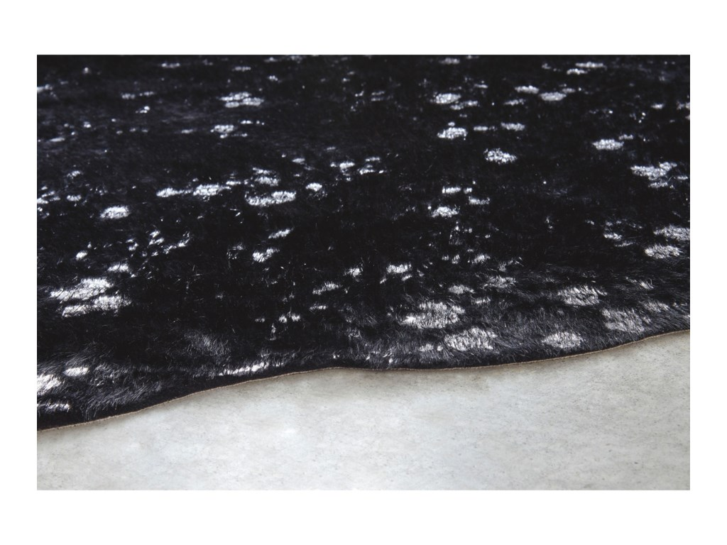 Signature Design by Ashley Contemporary Area RugsJaxith Black Medium Rug