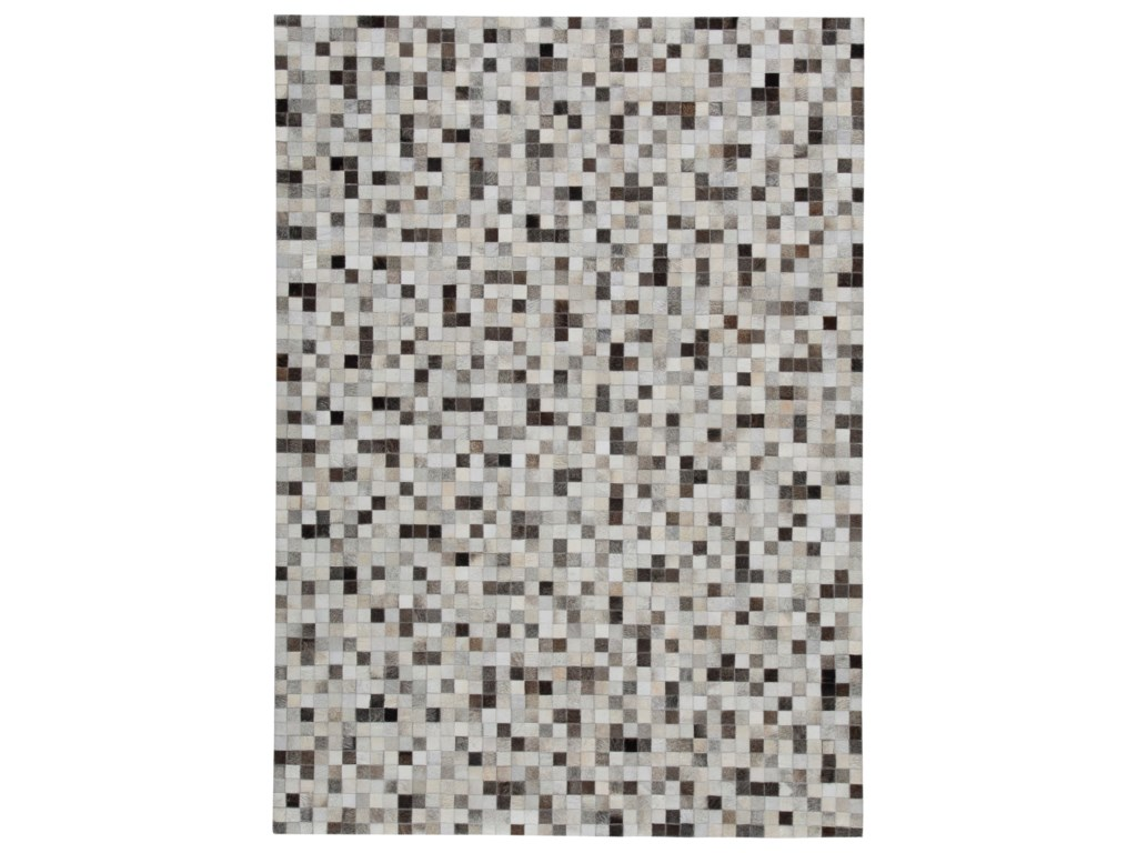 Signature Design by Ashley Contemporary Area RugsHarish Black/Tan Large Rug