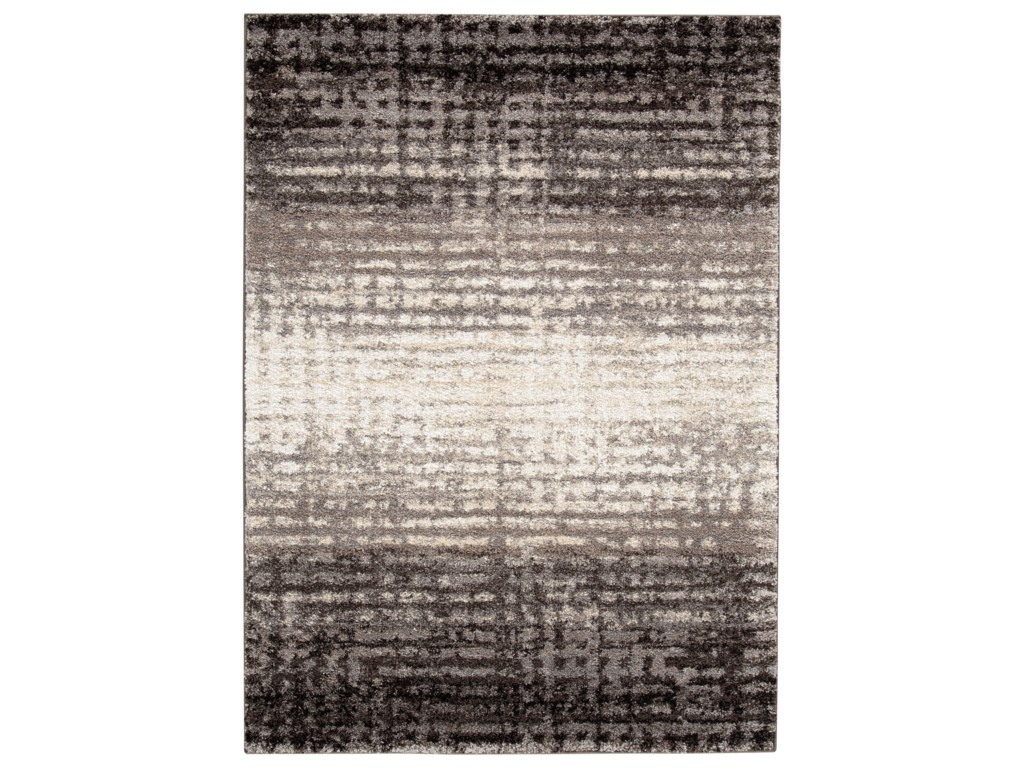 Signature Design by Ashley Contemporary Area RugsMarleisha Black/Natural Large Rug
