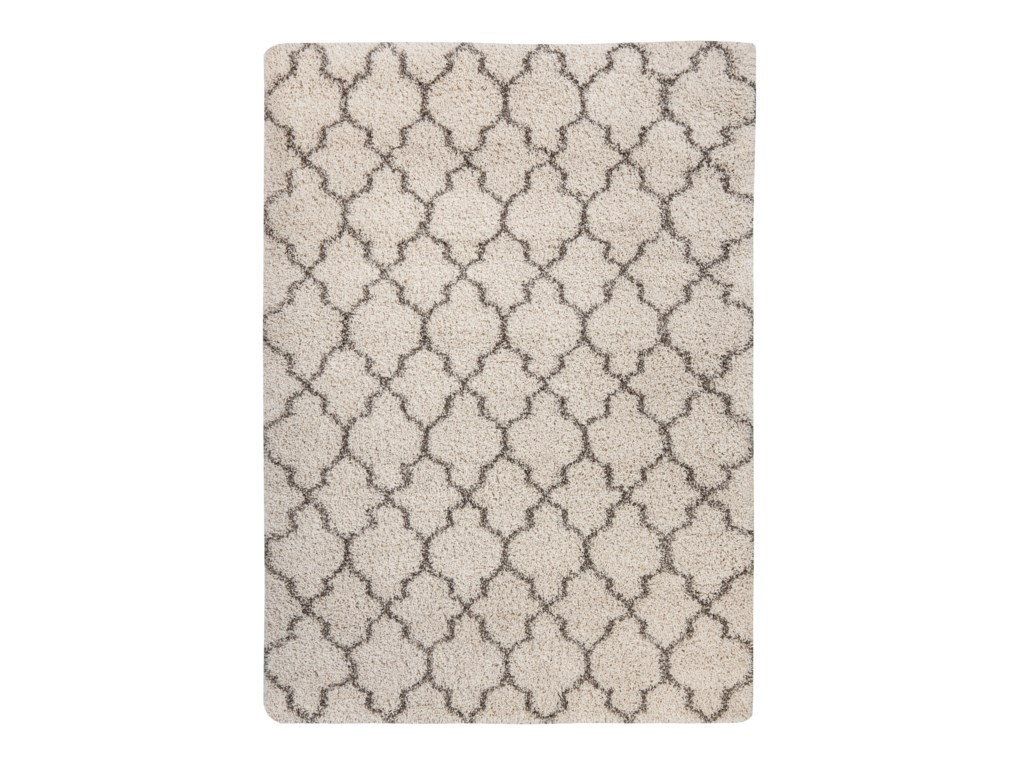 Signature Design by Ashley Traditional Classics Area RugsGate - Cream Medium Rug
