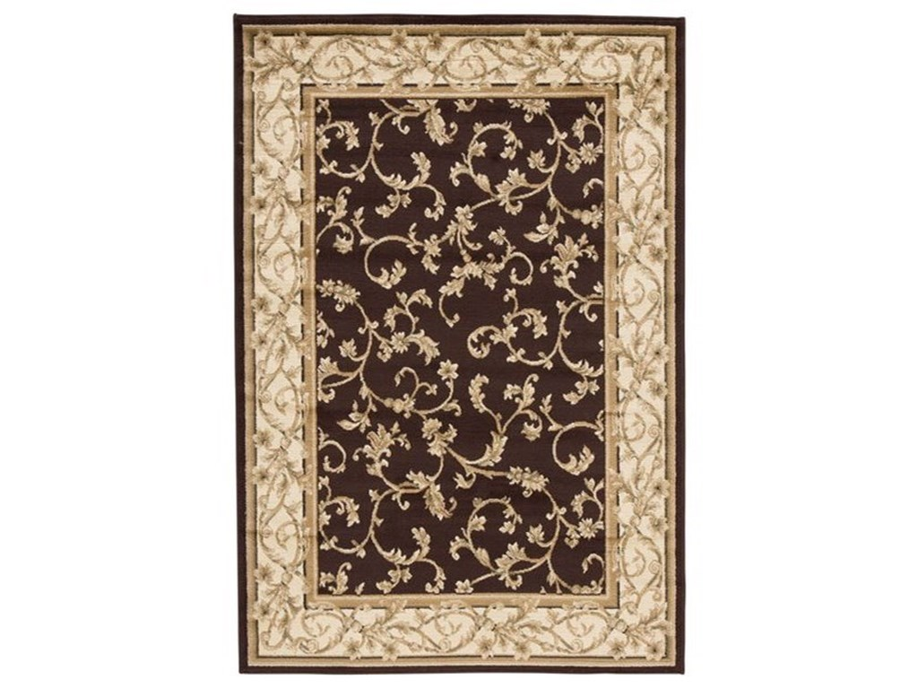 Signature Design by Ashley Traditional Classics Area RugsJameel Brown/Gold Large Rug