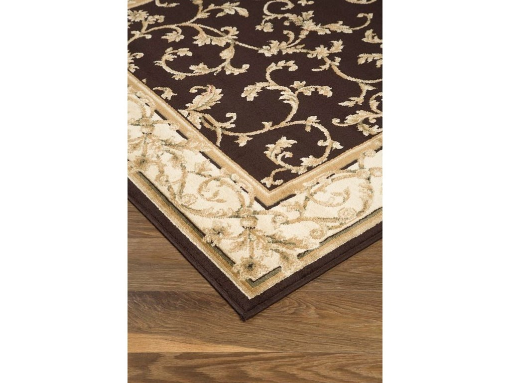 Signature Design by Ashley Traditional Classics Area RugsJameel Brown/Gold Medium Rug
