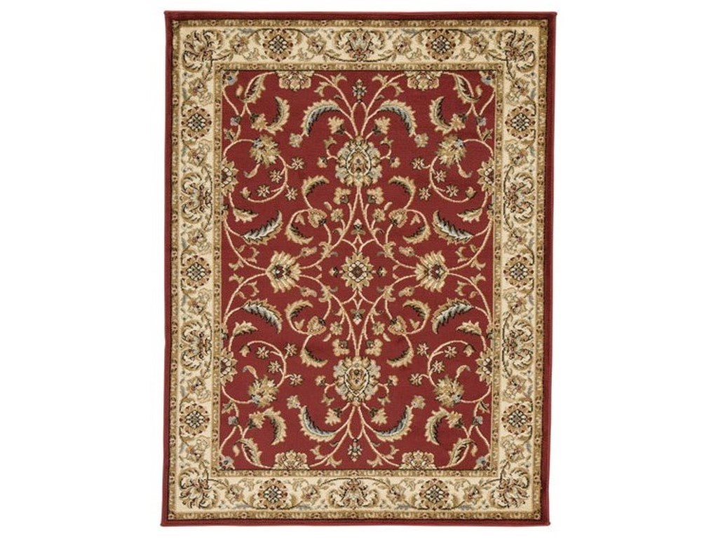Signature Design by Ashley Traditional Classics Area RugsJamirah Red/Brown Large Rug