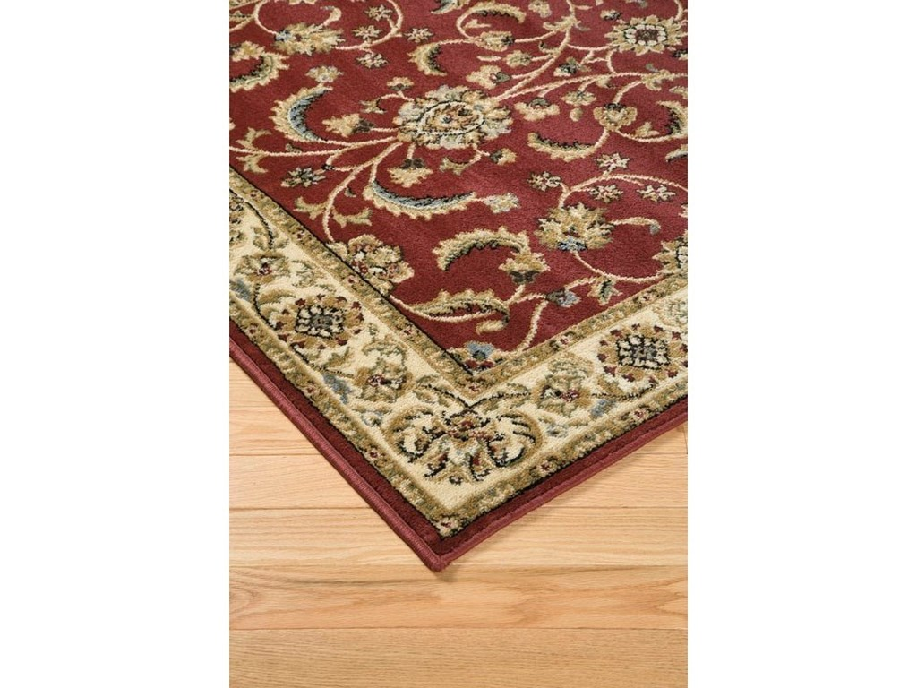 Signature Design by Ashley Traditional Classics Area RugsJamirah Red/Brown Medium Rug