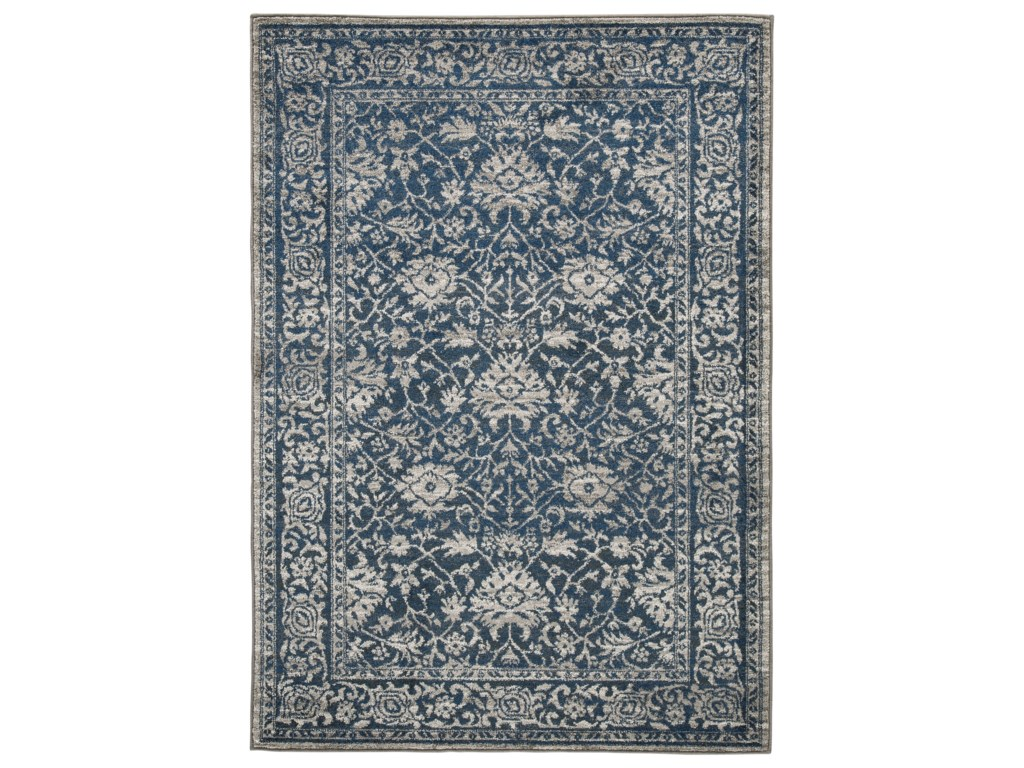 Signature Design by Ashley Traditional Classics Area RugsMaxton Blue Large Rug