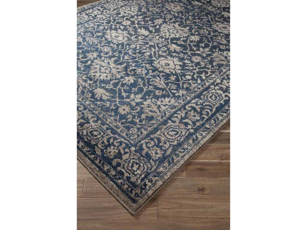 Trendz Traditional Classics Area RugsMaxton Blue Medium Rug