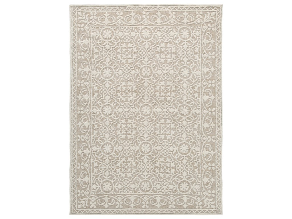 Signature Design by Ashley Traditional Classics Area RugsBeana Ivory Medium Rug
