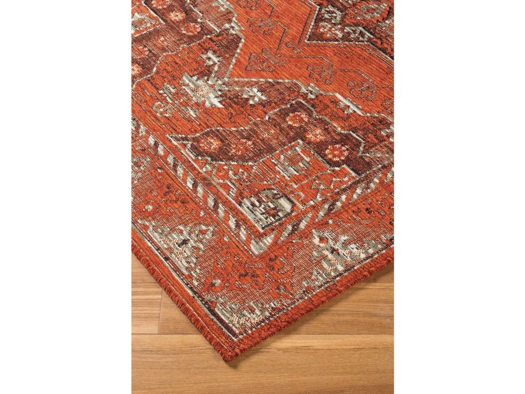 Signature Design by Ashley Transitional Area RugsDalit Rust Medium Rug