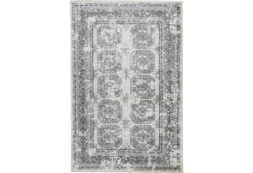 Benchcraft Transitional Area Rugs Jirou Gray Taupe Large Rug