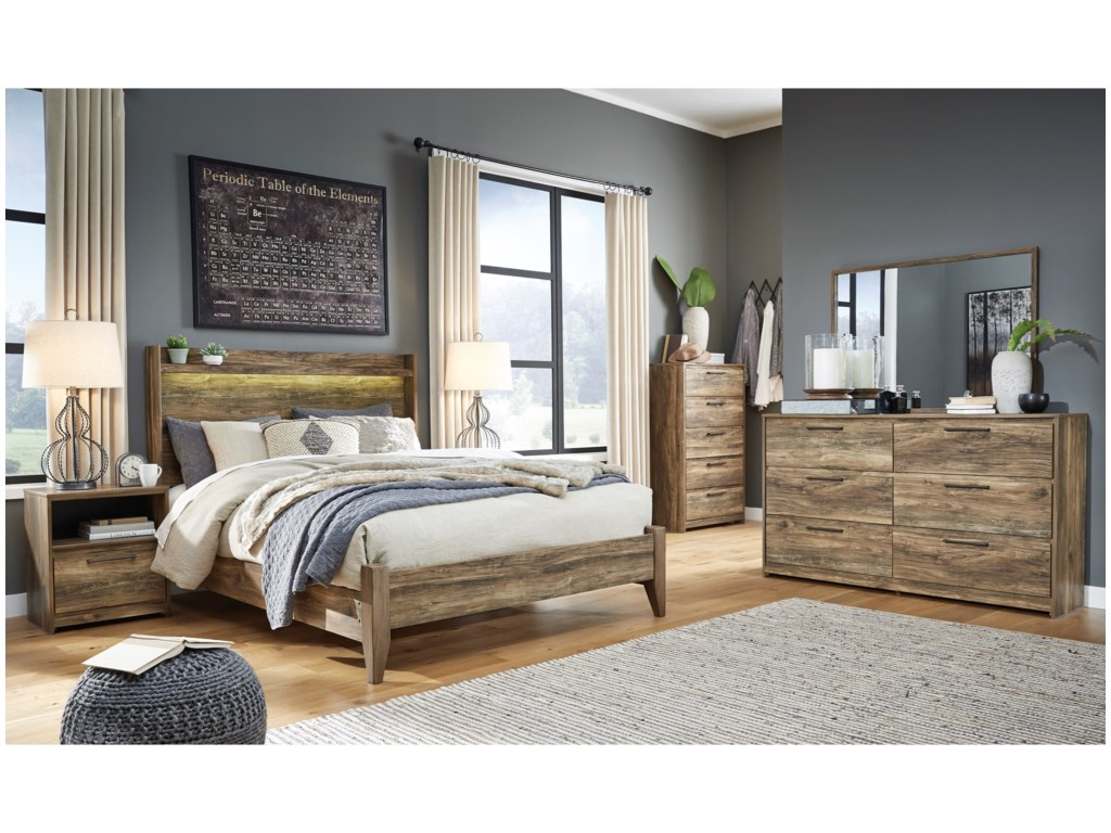 Signature Design by Ashley RusthavenQueen Bedroom Group