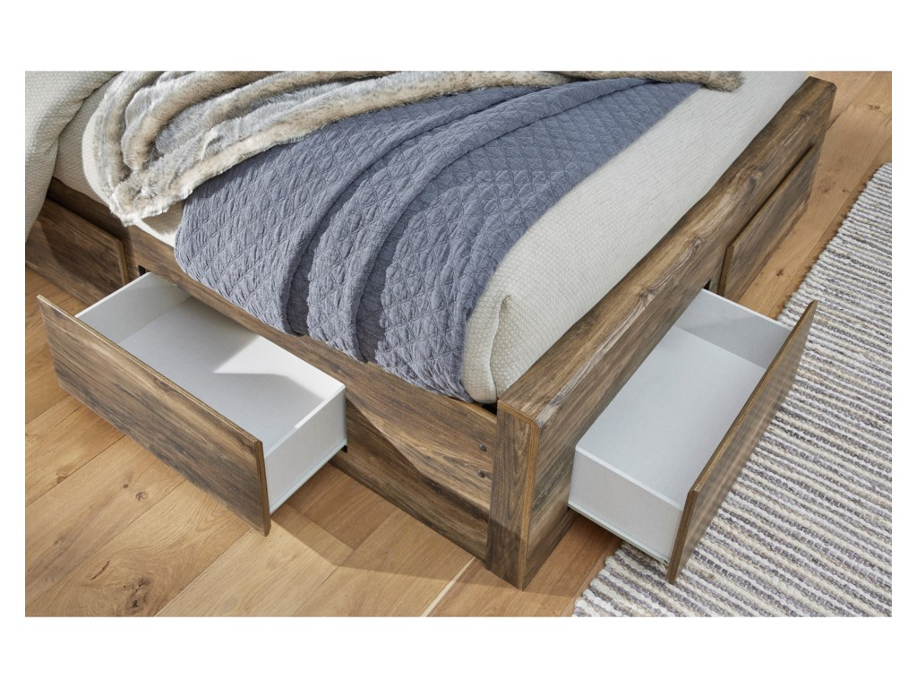 Signature Design by Ashley RusthavenQueen Storage Bed