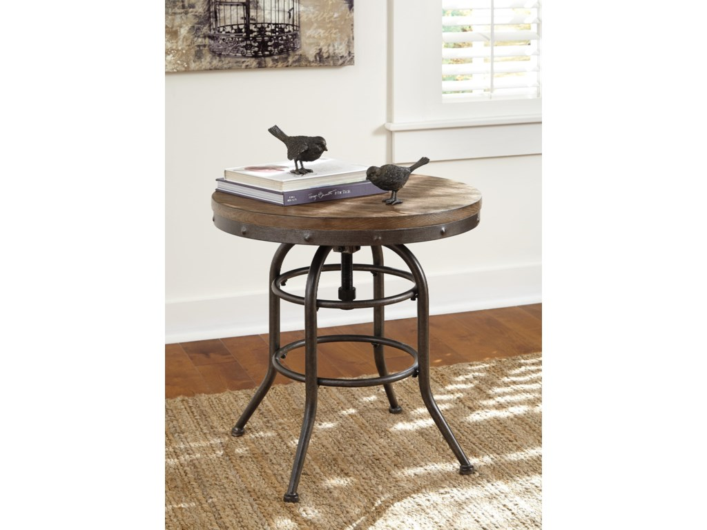 Signature Design by Ashley VenniluxRound End Table