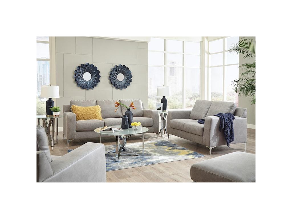 Signature Design by Ashley Ryler Living Room Group | Royal Furniture ...