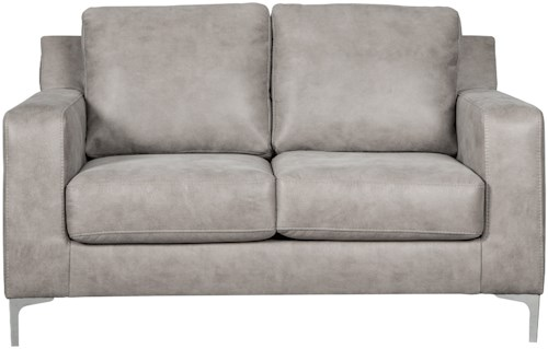 Signature Design by Ashley Ryler Contemporary Loveseat