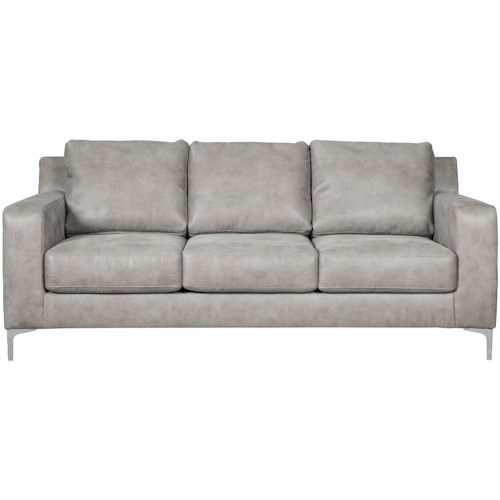 Signature Design by Ashley Ryler Contemporary Sofa