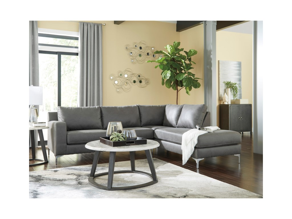 Signature Design by Ashley Ryler2-Piece Sectional with Chaise